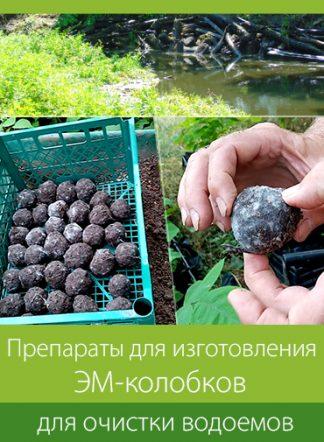 ЭМ-колобки для очистки водоемов (EM-mub Balls)